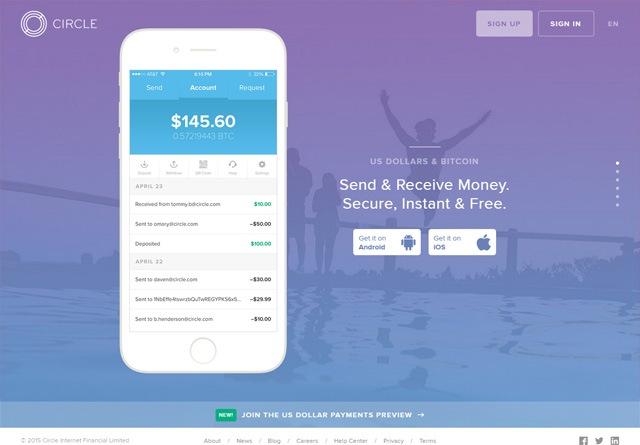 App Website: Circle