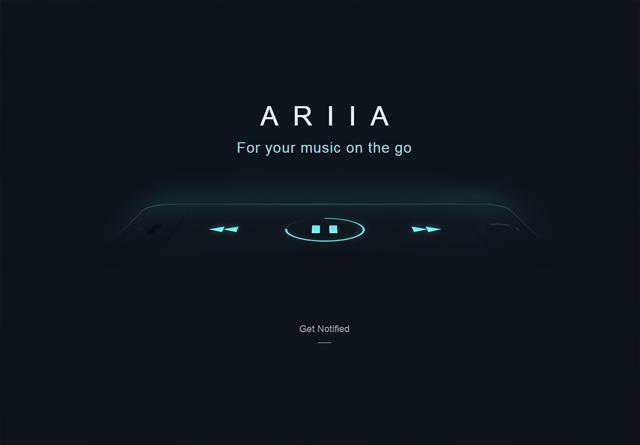 App Website: A R I I A