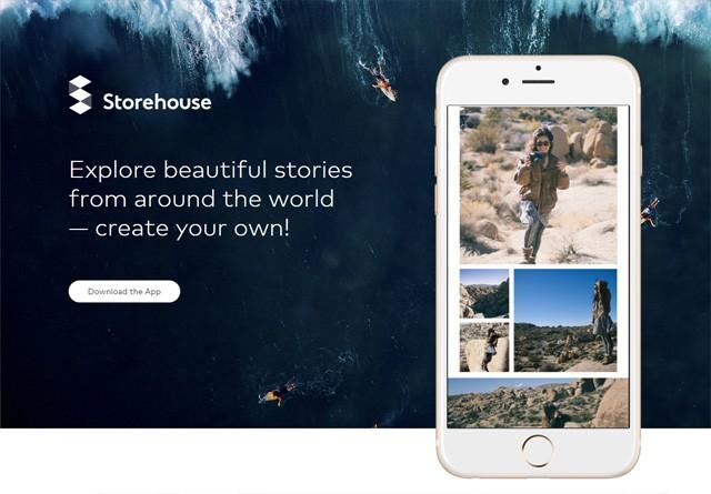 App Website: Storehouse