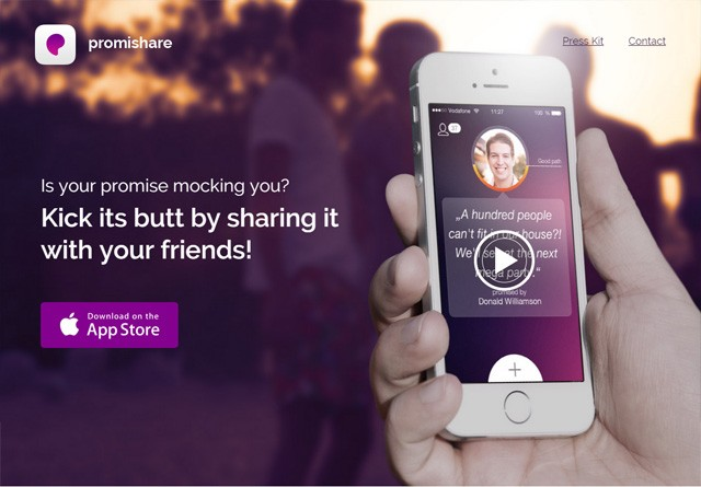 App Website: Promishare
