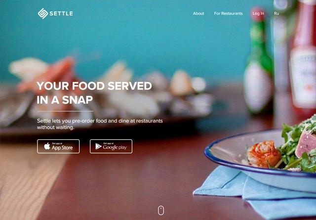 App Website: Settle