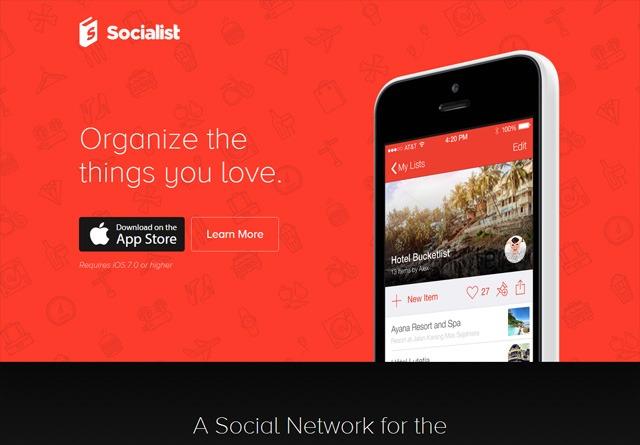 App Website: Socialist