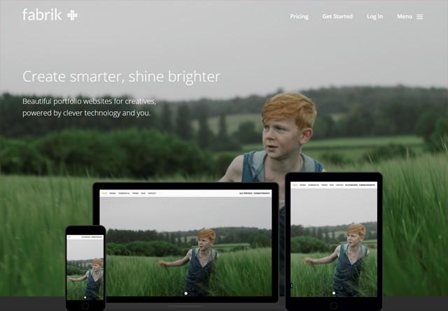 App Website: Fabrik