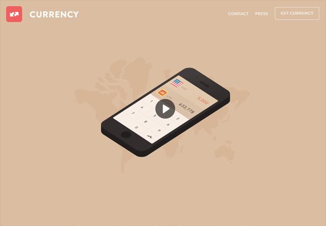 App Website: Currency Converter App