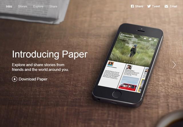 App Website: Paper