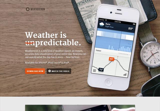 App Website: Weathertron