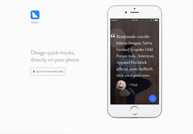App Website: Napkin