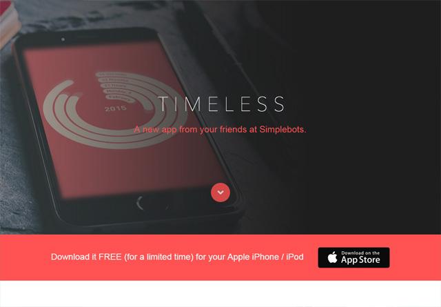 App Website: Timeless