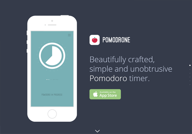 App Website: Pomodrone