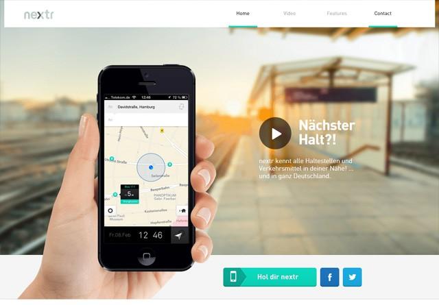 App Website: nextr