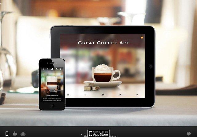 App Website: Great Coffee App