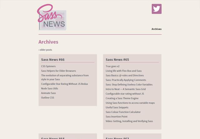 Sass News