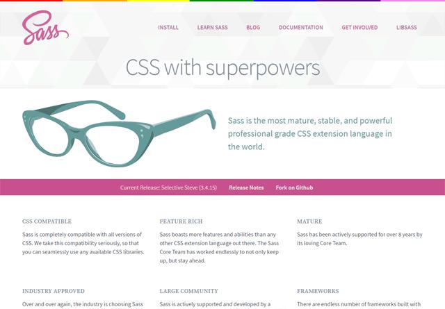 The official Sass website