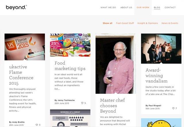 Beyond Blog