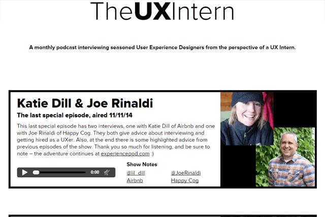 The UX Intern