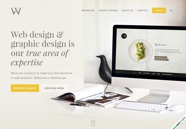 Design agency: Weblounge