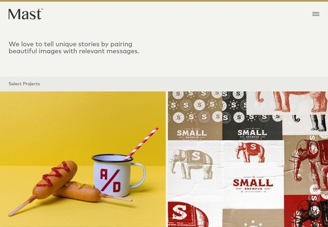 Design agency: Mast