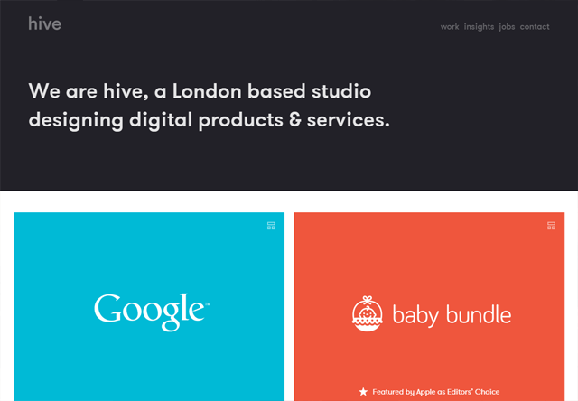 Design agency: hive