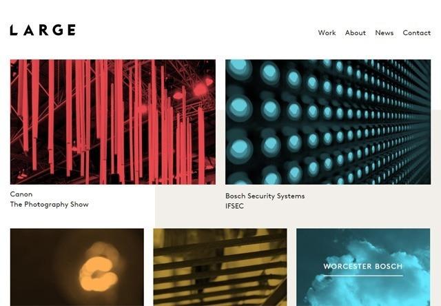 Design agency: Large Creative