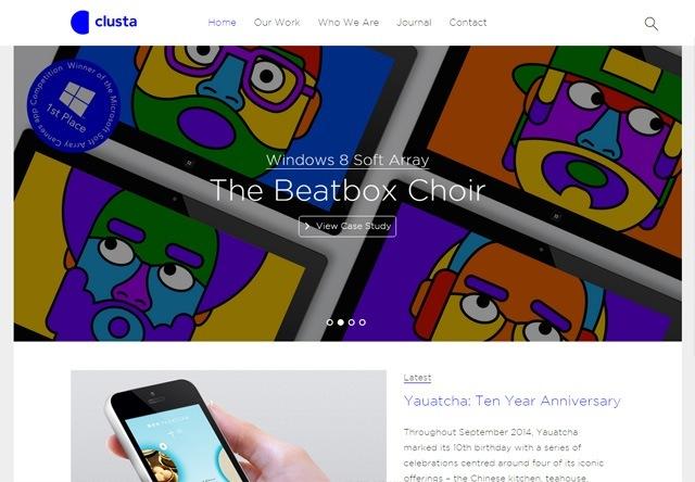 Design agency: Clusta