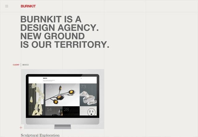 Design agency: Burnkit