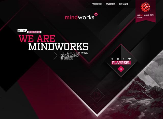 One-page website: Mindworks