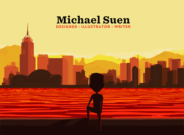 One-page website: Michael Suen