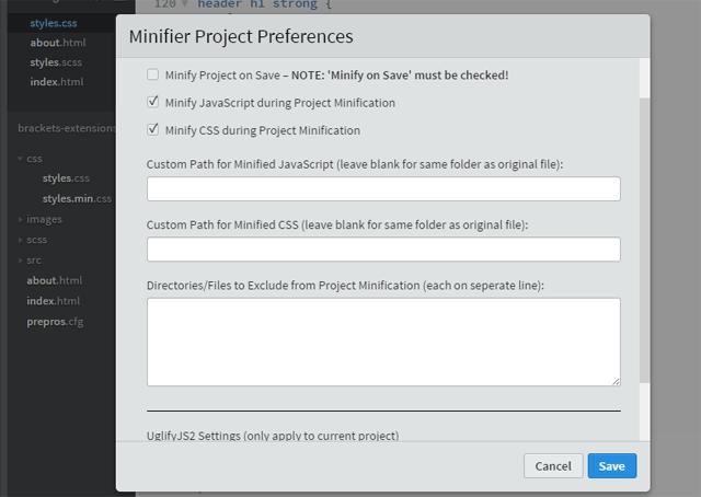 JS CSS Minifier