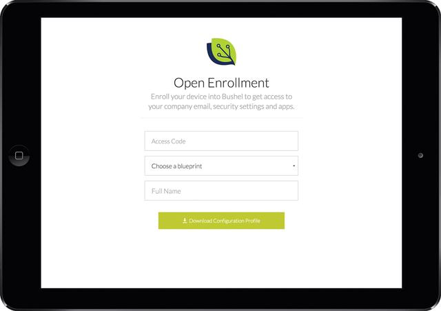 Open Enrollment download page