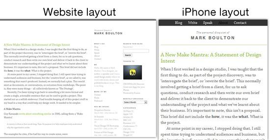Undesign Your Portfolio Website