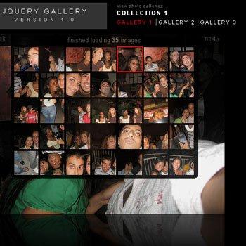 Jquery Gallery version 1.0
