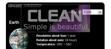 Clean AJAX - screenshot