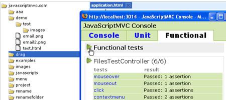 Test plugin - Screenshot