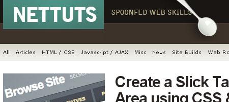 NETTUTS - Screenshot