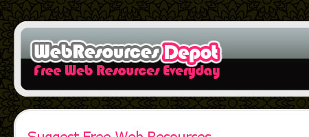 Web Resources Depot - Screenshot