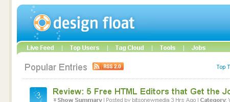 Design Float - Screen shot