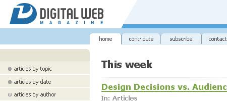 Digital Web Magazine