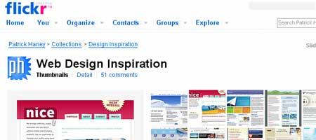 Web Design Inspiration - a set on Flickr - Screen Shot