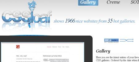 CSSloaf - Screenshot