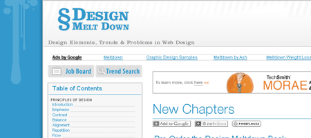 Design Melt Down - Screen shot