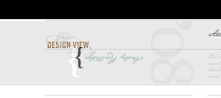 Design View - Screen shot
