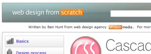 Web Design from Scratch: CSS - screen shot.