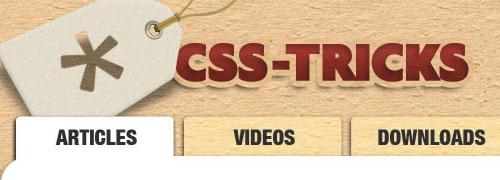 CSS-Tricks - screen shot.