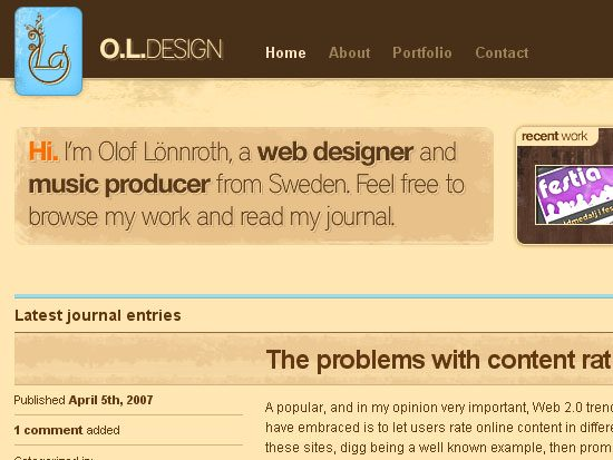 OLDesign - screen shot.