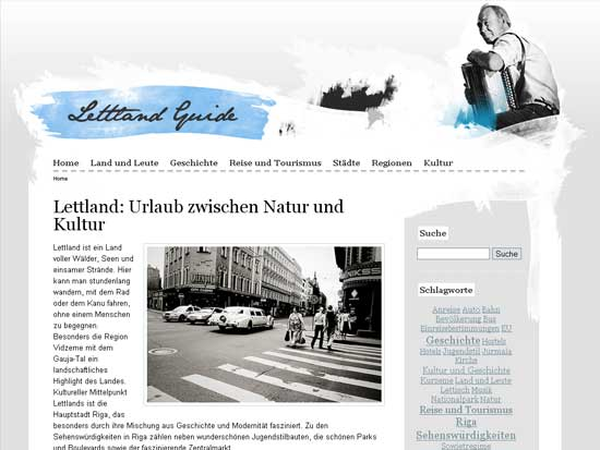 Lettland - screen shot.