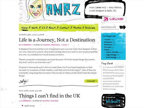 AMRZ - screen shot.