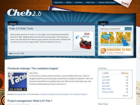 Cheb 2.0 - screen shot.