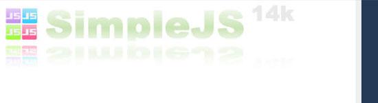 SimpleJS - screen shot.