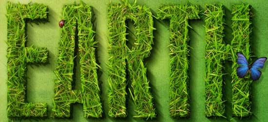 Create a Spectacular Grass Text Effect - screen shot.