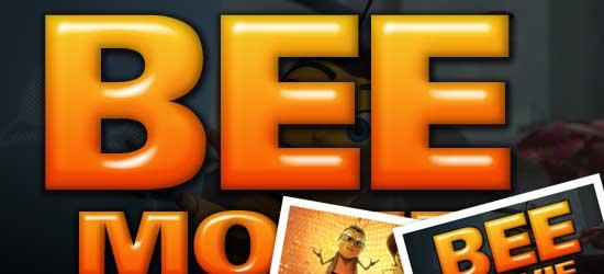 Bee Movie Text Effect - screen shot.